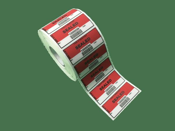Tamper Proof Labels ASL 002 Non Transfer