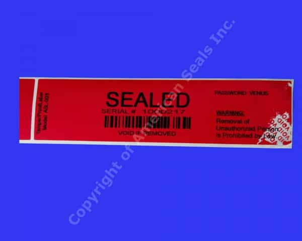 Tamper-Proof Labels ASL-003 Transfer02
