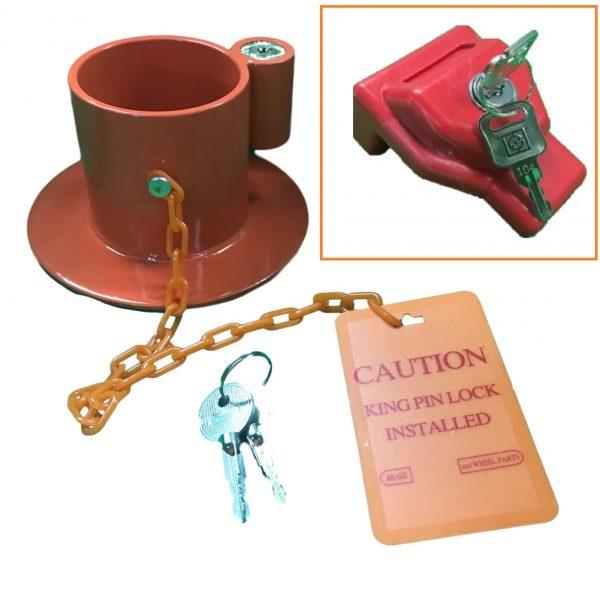 K pin Glad Hand Lock