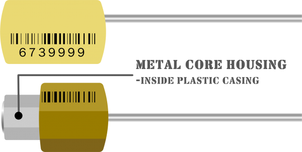 PT CABLE SEAL METAL CORE HOUSING